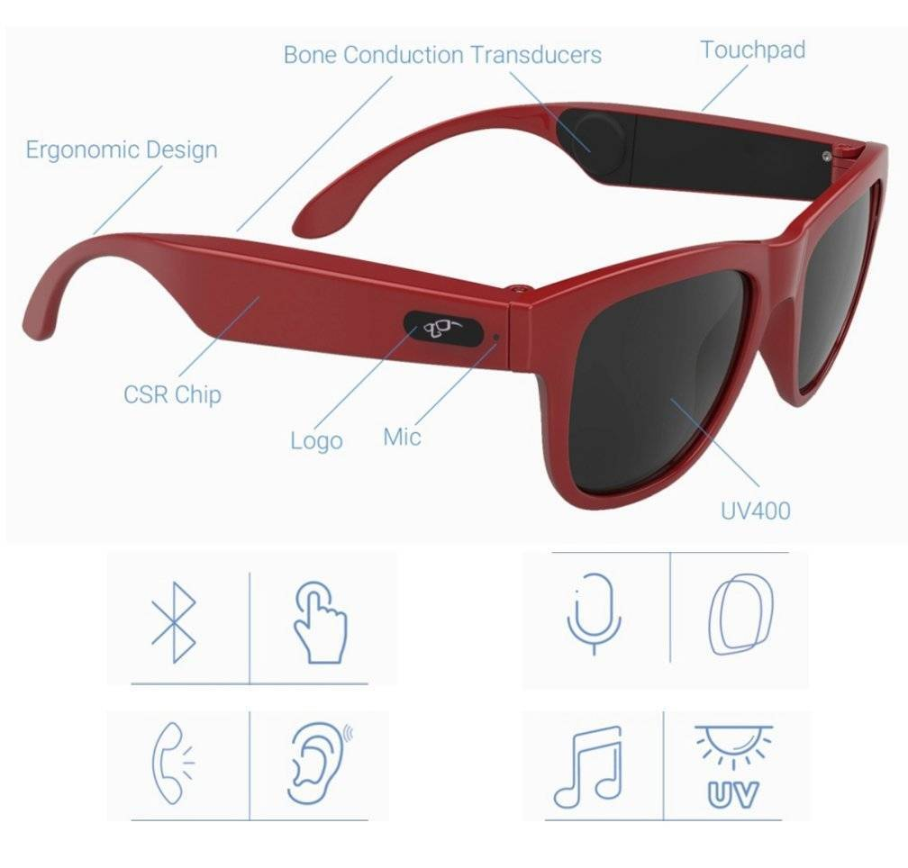 gonbes g1 bone conduction glasses